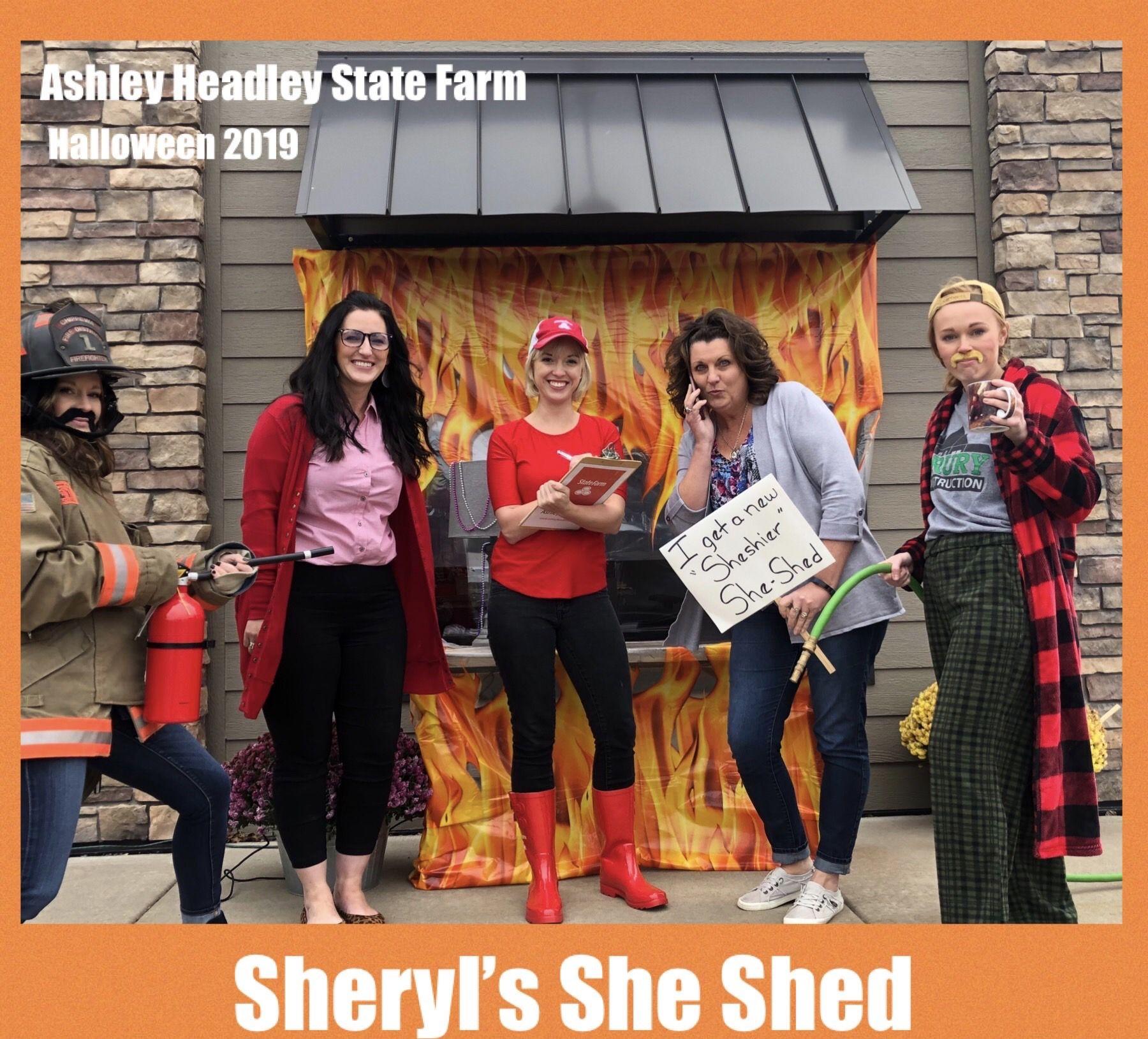 Sheryl's She Shed Ashley Headley State Farm  #SheShed #AHSF #StateFarm