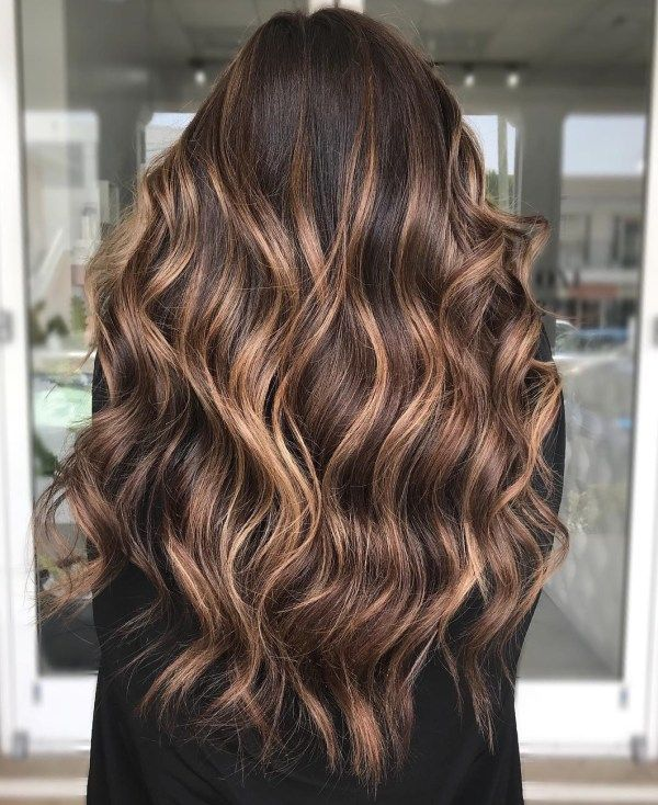 50 Dark Brown Hair with Highlights Ideas for 2020 – Hair Adviser