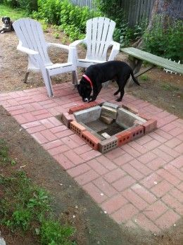 Do it yourself patios how to build an easy low budget patio or or maybe you just enjoy to sit around a fire pit but need a patio for more comfort and enjoyment there are many low budget do it yourself ideas for solutioingenieria Images