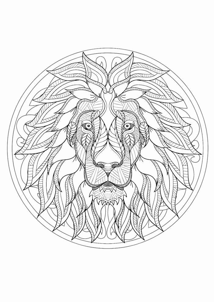 Christmas Pictures Coloring Pages Beautiful Coole Ausmalbilder Zum Ausdrucken 1001 Coole Mandalas Zum Coloring Page Coole Ausmalbilder Ausmalen Mandala Tiere