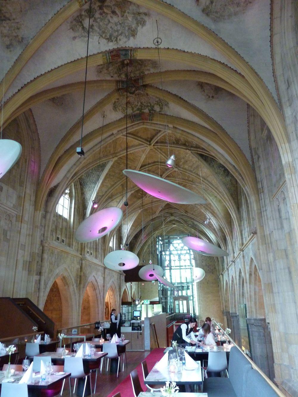 Interieur Kruisherenhotel in Maastricht. Interieur van ...