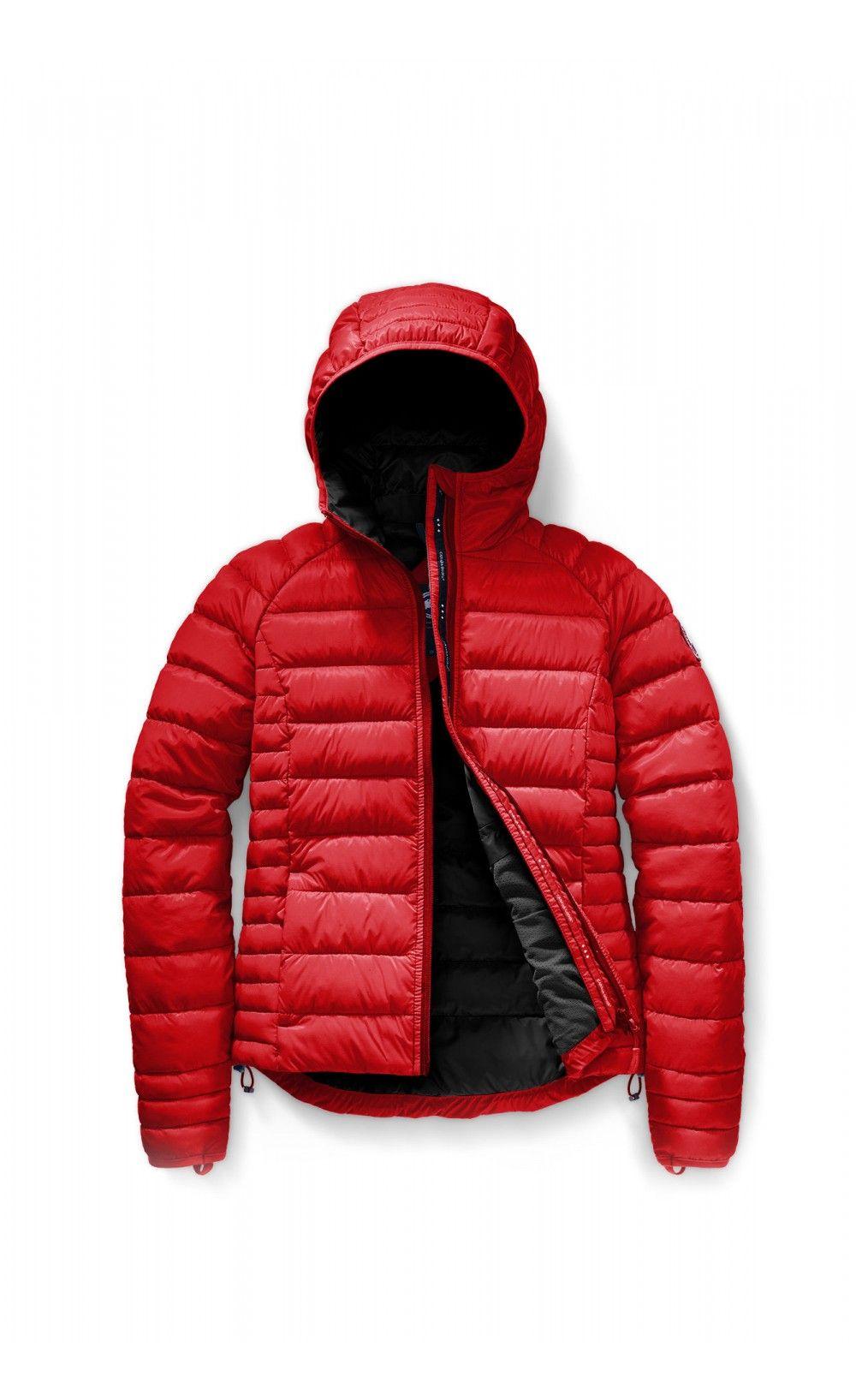 Canada Goose Brookvale Hoody Red Women Canada Goose Blackfriday Fashion Parka Jacket Canadagoose Thankgivingda Canada Goose Brookvale Hoodies Down Coat
