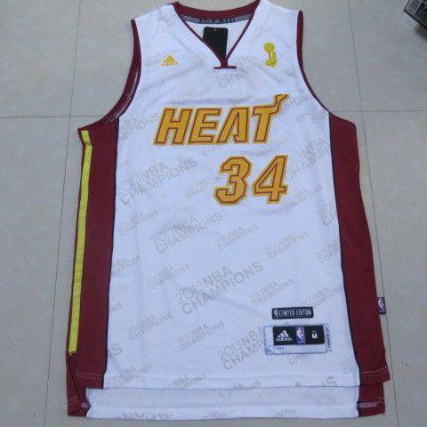 official photos c28ff 88c82 Cheap NBA Miami Heat #34 Allen Jerseys luxury gold (45693 ...