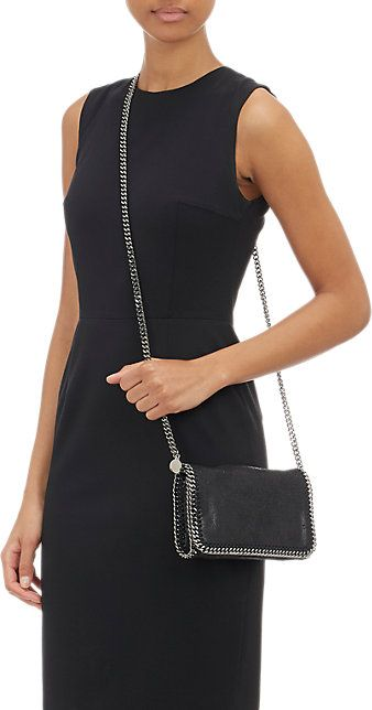 Stella McCartney Falabella Shaggy Deer Crossbody Pochette - - Barneys.com 2533ae633b323