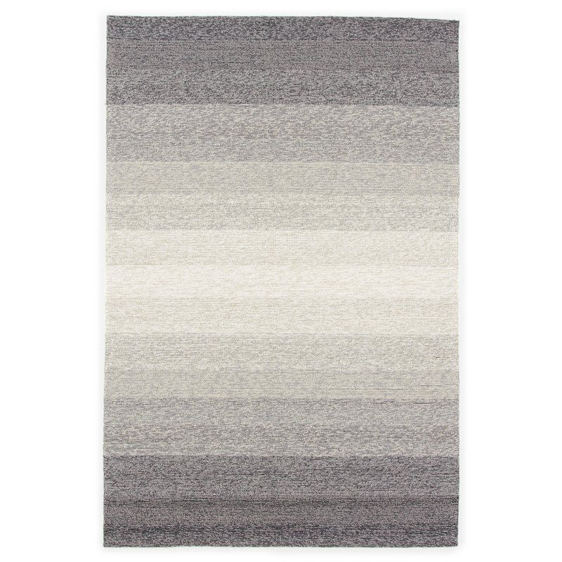 Sarno Hand Hooked Ombre Blue Overcast Indoor Outdoor Area Rug Allmodern Indoor Outdoor Area Rugs Area Rugs Outdoor Area Rugs
