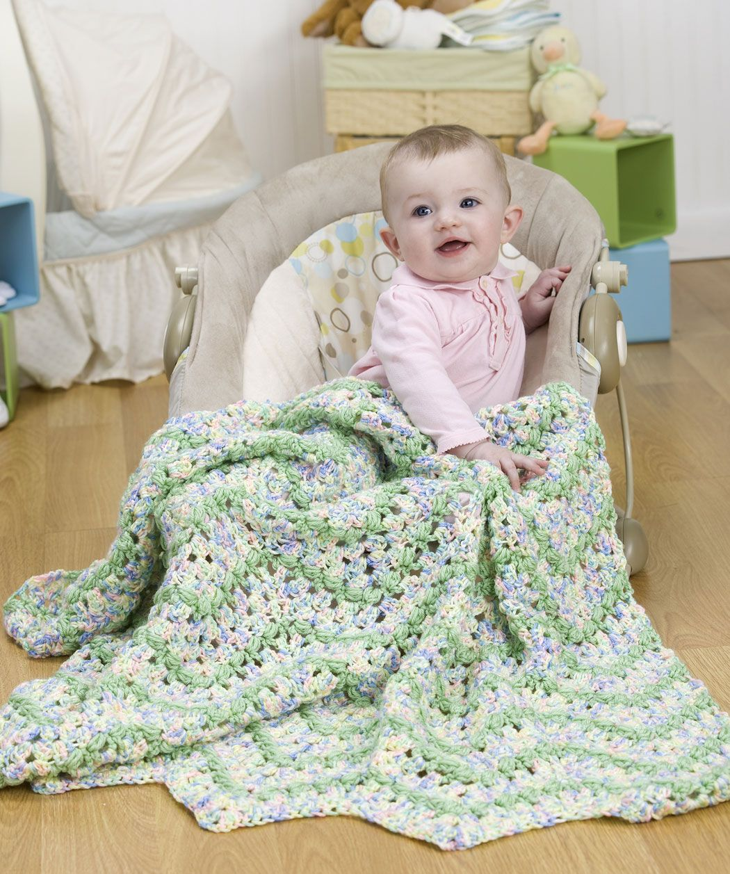 Pattern Correction - Blissful Baby Afghan Crochet Pattern | Red ...