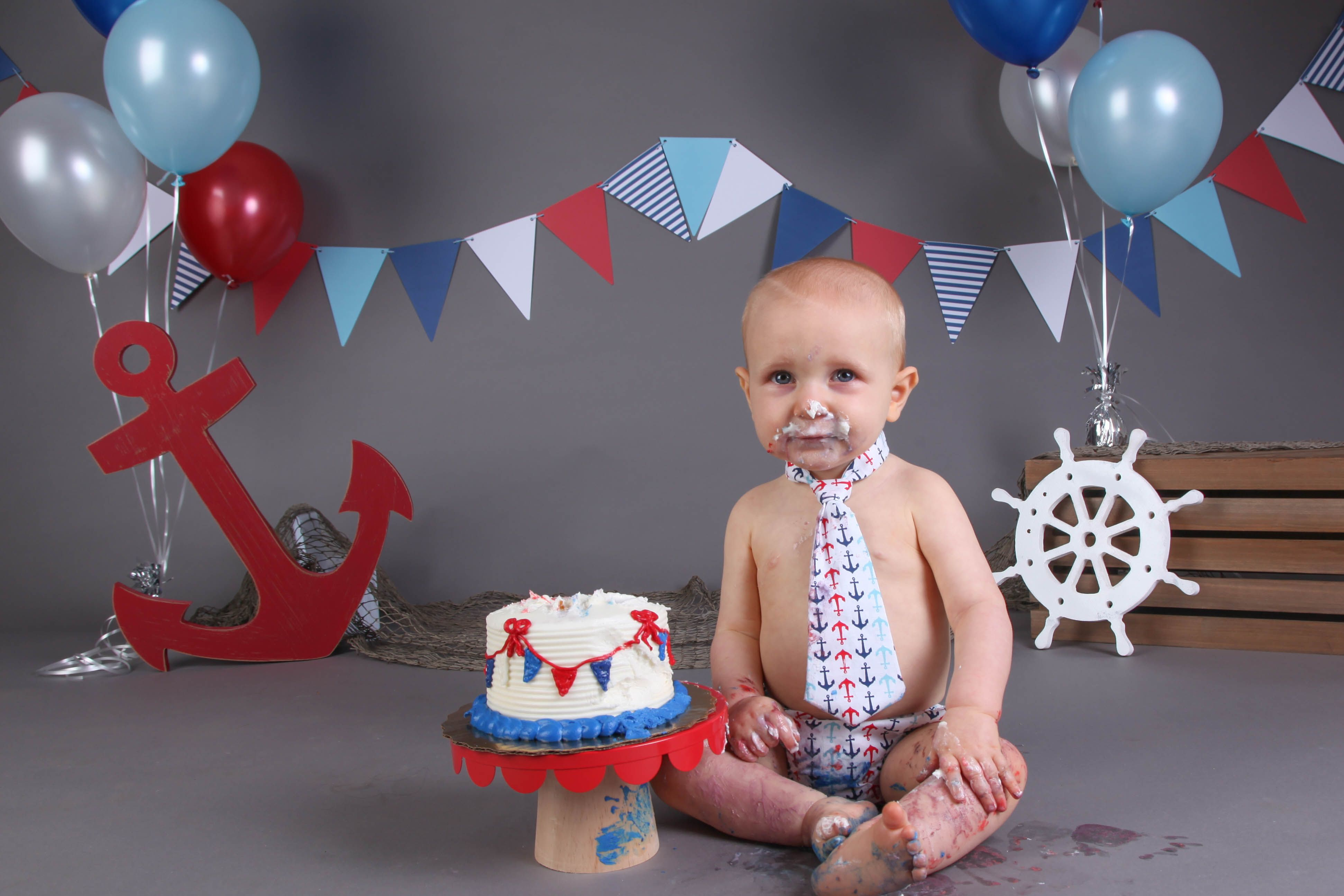 Cake Smash First Birthday Posing Ideas Session Baby Boy Year One Old