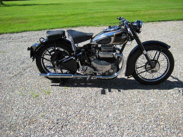 1948 Ariel 995cc Model 4G Square Four Frame no. XP2072 Engine no. CJ675