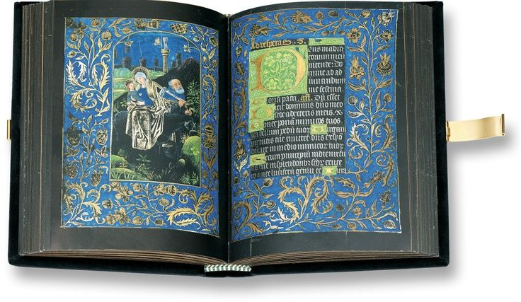 Black Book of Hours 15th Century – Pierpont Morgan Library, New York, M. 493.