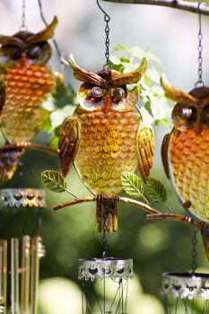Owl Wind Chimes.