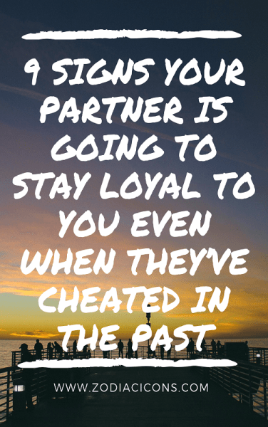 be loyal to your partner