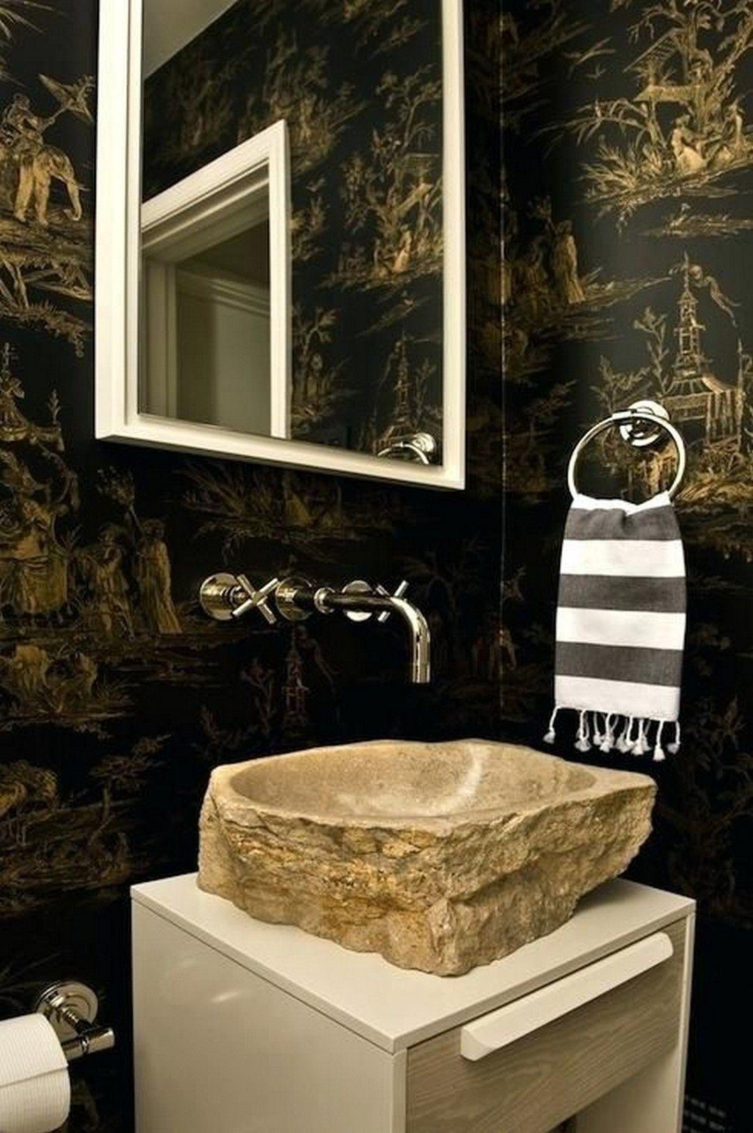 Stonevesselbathroomsinks Ungewohnliche Bader Waschbecken Design