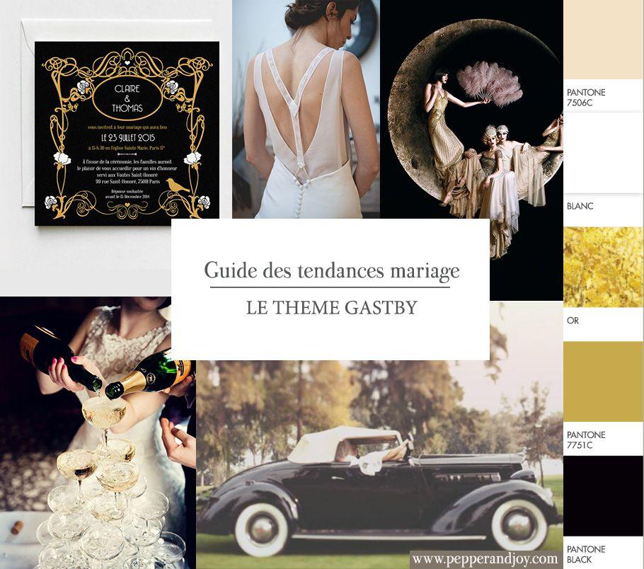 Gatsby Une Décoration De Mariage Inspirée Des Années: Thème Mariage 2015 #3 – Le Style Gatsby