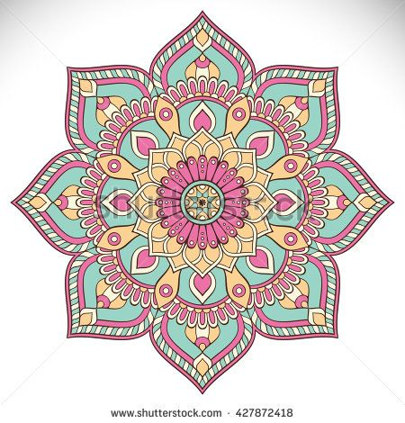 Mandala Pattern - Color My Cover Journal (CMC 365 Lined) (Volume 1)