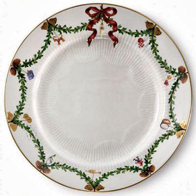 Tableware · Royal Copenhagen christmas china dinner plate pattern  sc 1 st  Pinterest & Christmas China   Christmas china Royal copenhagen and Copenhagen