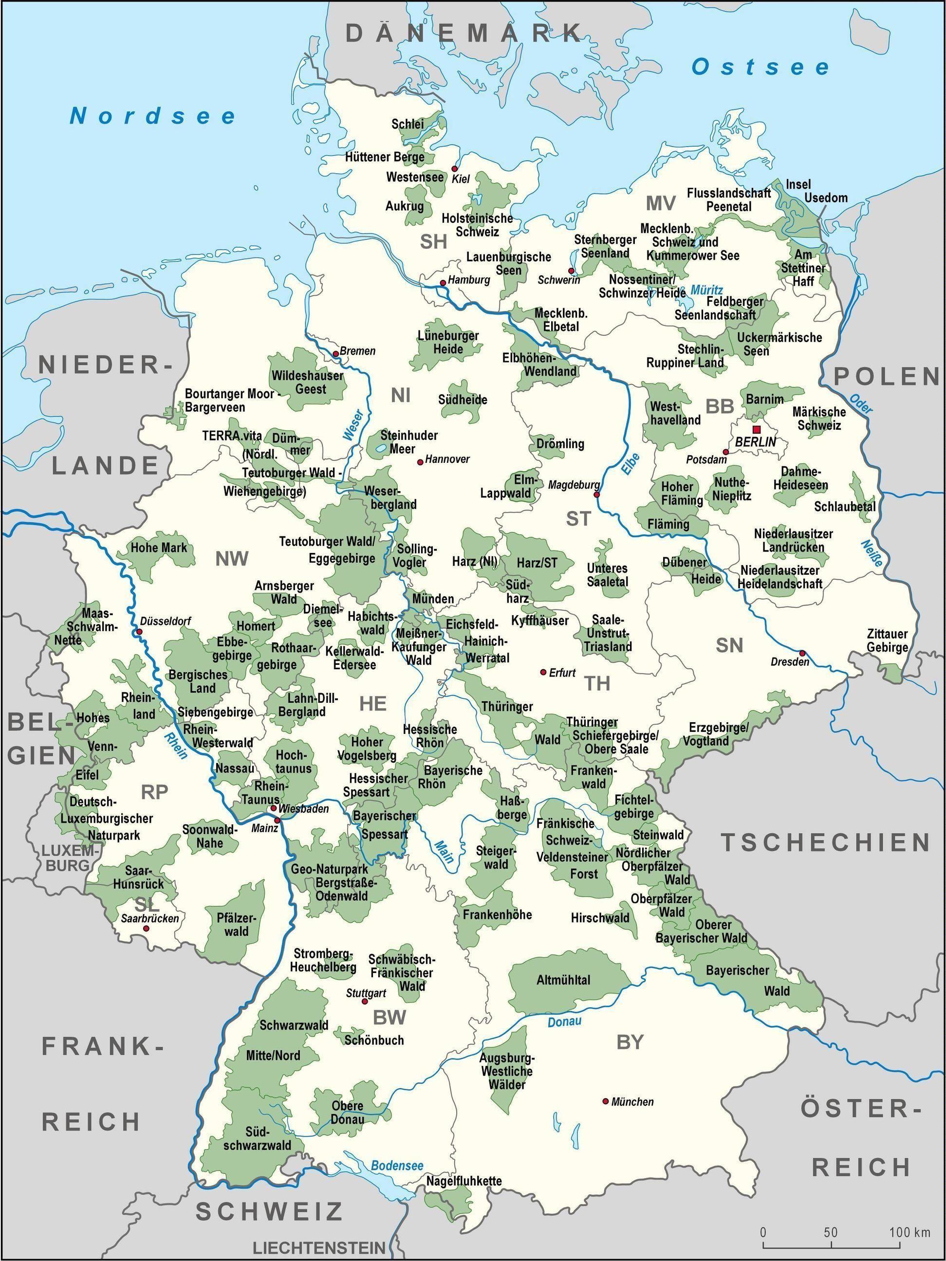 19 Landkarten Die Dir Eine Komplett Neue Sicht Auf Deutschland