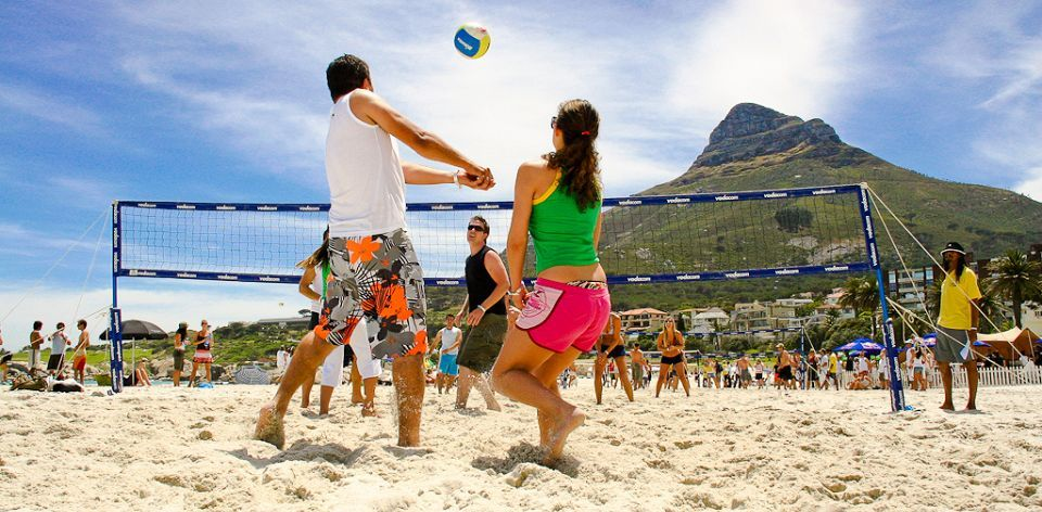 Indoor And Outdoor Volleyball In South Africa South Africa Africa Safari Tour