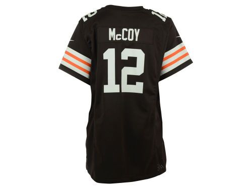 Nike NFL Cleveland Browns Colt McCoy Women's Game Jersey