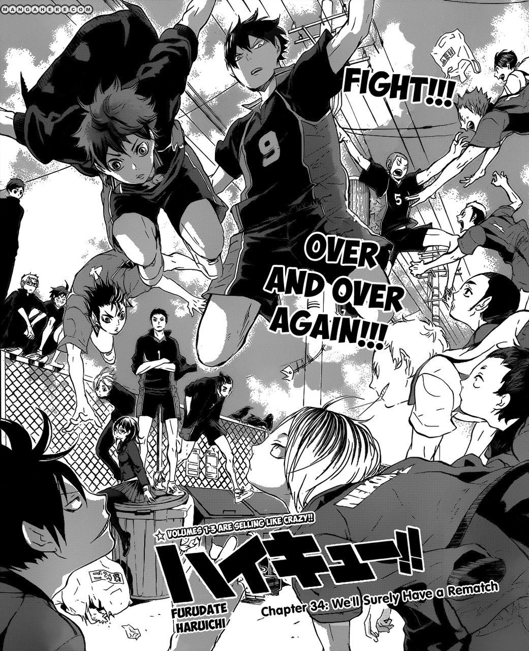 Haikyuu Manga Order: Fate Rival Karasuno Vs Nekoma