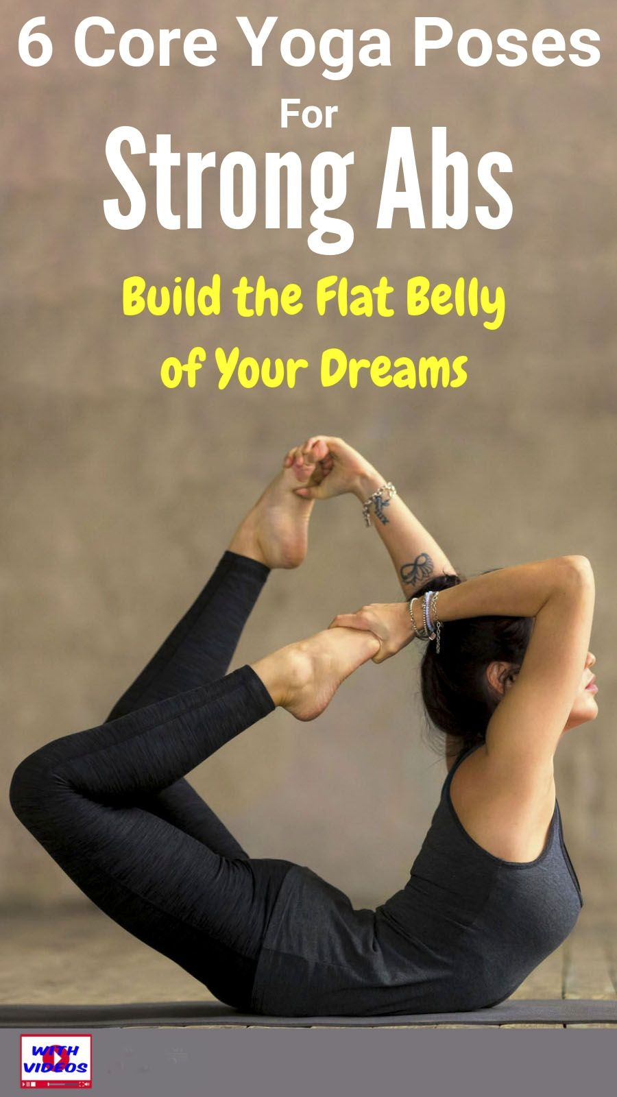 Try This Flat-Belly Yoga Pose   Pilates workout, Flat