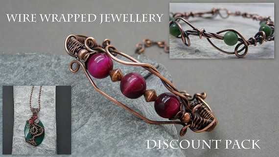 Wire wrapping tutorial  Wire wrapped by DesignedByAnnemarie