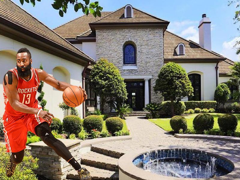 Nba Homes James Harden S House In Houston Pictures Basketball Celebrity Houses Home House