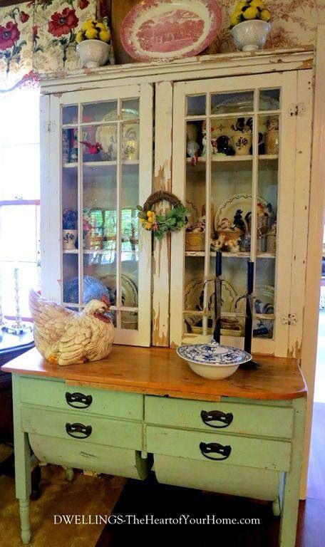 Be Inspired 143 A New Farmhouse Porch Antique Kitchen Cupboard French Country Kitchens French Country Decorating