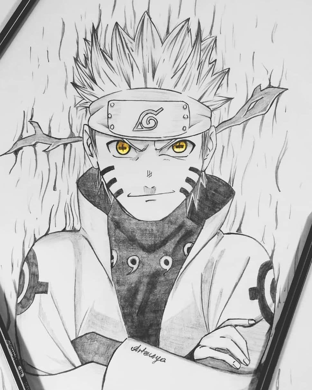 Naruto Dessin Facile