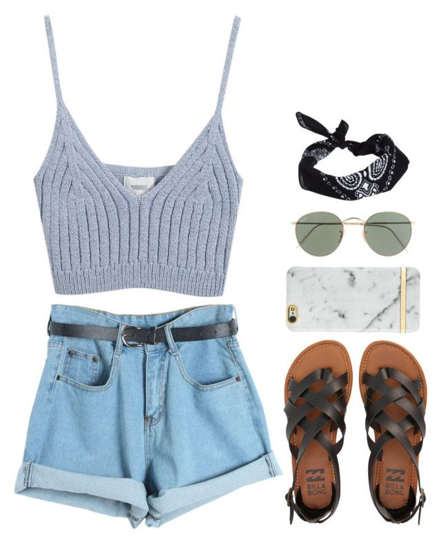 """""""in an instant"""" by winterlilac12 ❤ liked on Polyvore featuring Chicnova Fashion, Billabong, J.Crew and ASOS"""