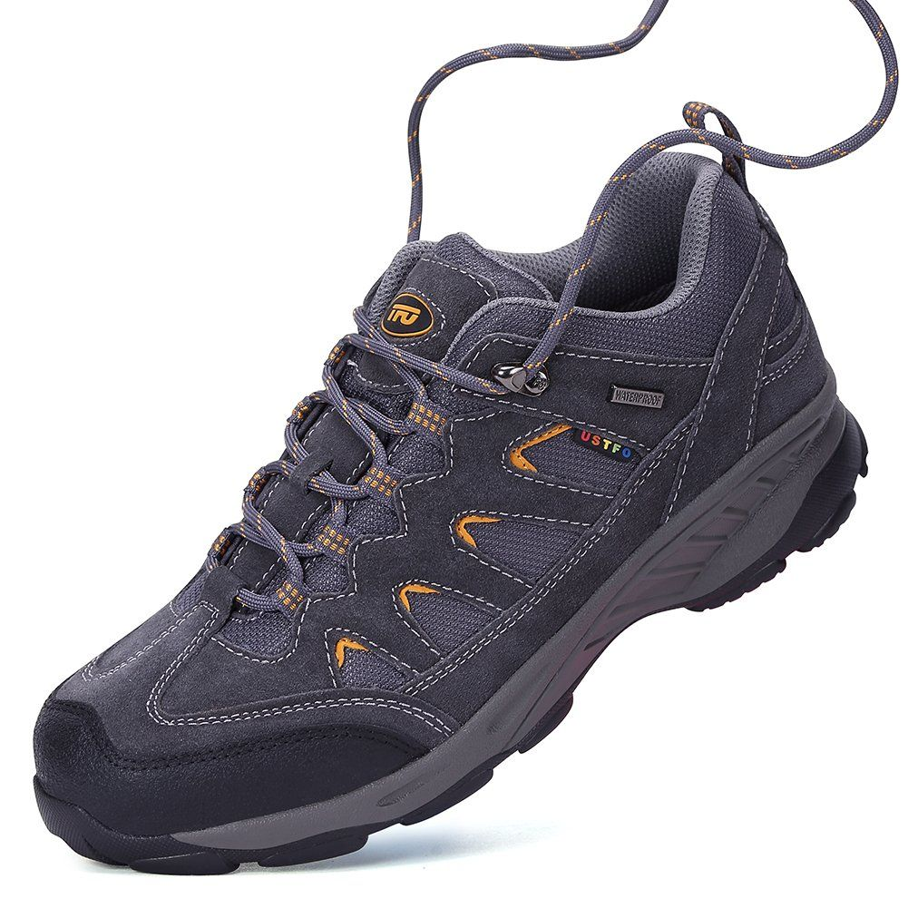 dd4070f07c8d Hiking and Trekking Shoes for Men Outdoor Trail Trekking Sneakers Breathable  Climbing Shoes Size 7.5    Visit the image link more details-affiliate link.