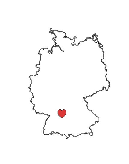 This Is Gonna Be My Tattoo Its An Outline Of The Map Of - Germany map outline