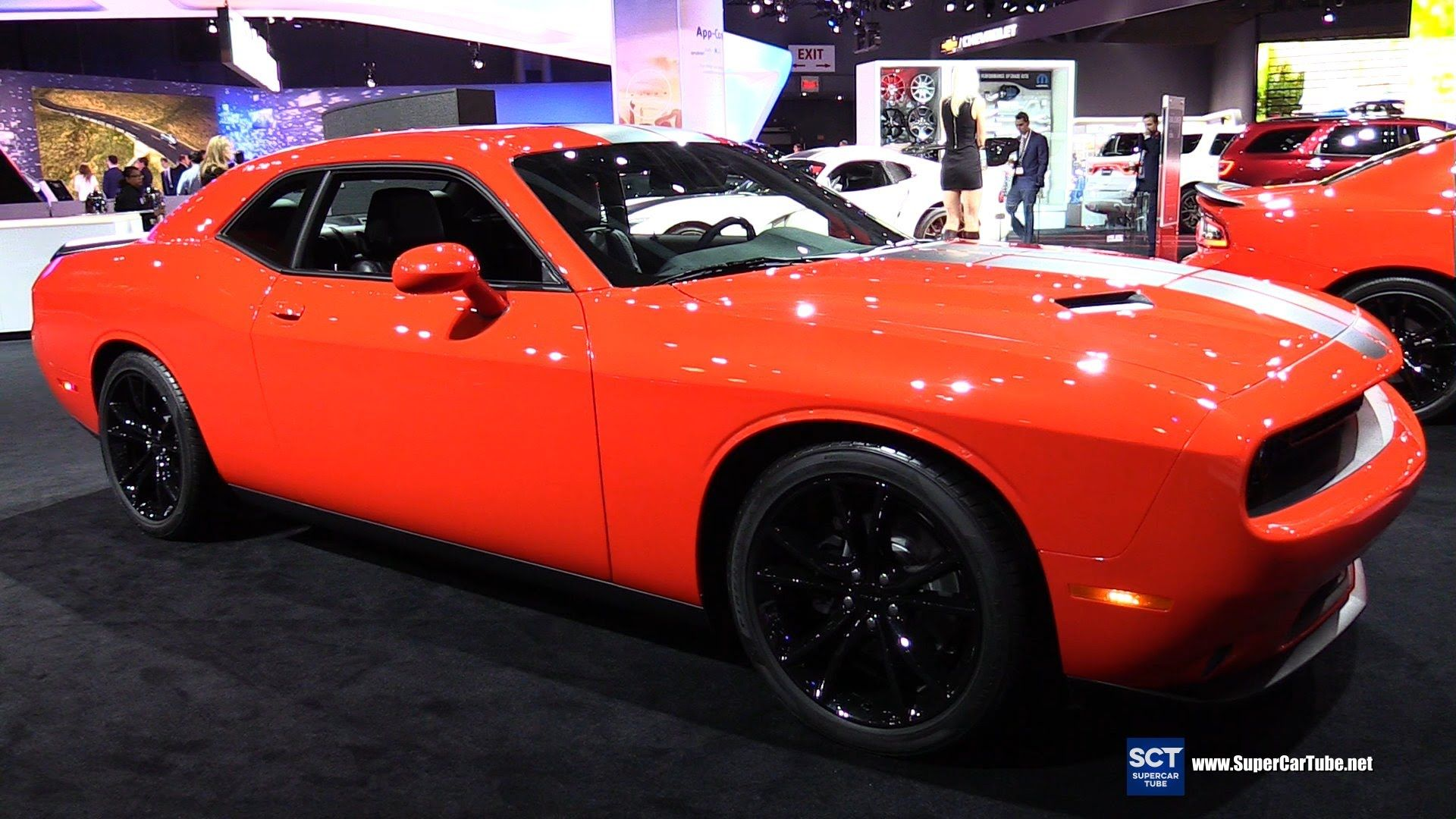 Go Mango Charger >> 2016 Dodge Challenger Go Mango Edition - Exterior and Interior Walkaroun... | Cool American Cars ...