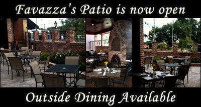 Favazzas Outdoor Patio Open Year Round