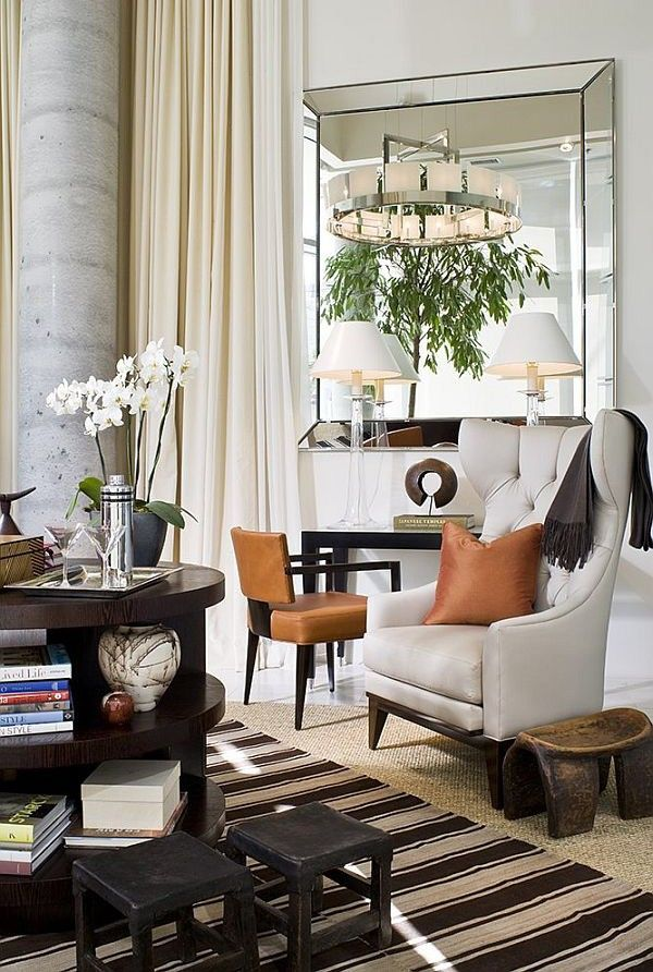 modern mirrors for living room. Square living room mirrors  A furniture trend to have in mind for 2015