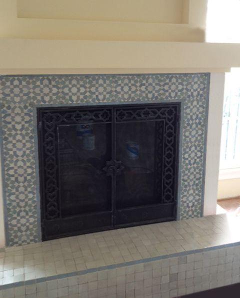 KETYANI 1-17 & R'CEEF 1. Mosaic House handcut, Moroccan ...