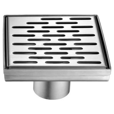 Alfi Brand 5 25 In Linear Shower Drain In Brushed Stainless Steel