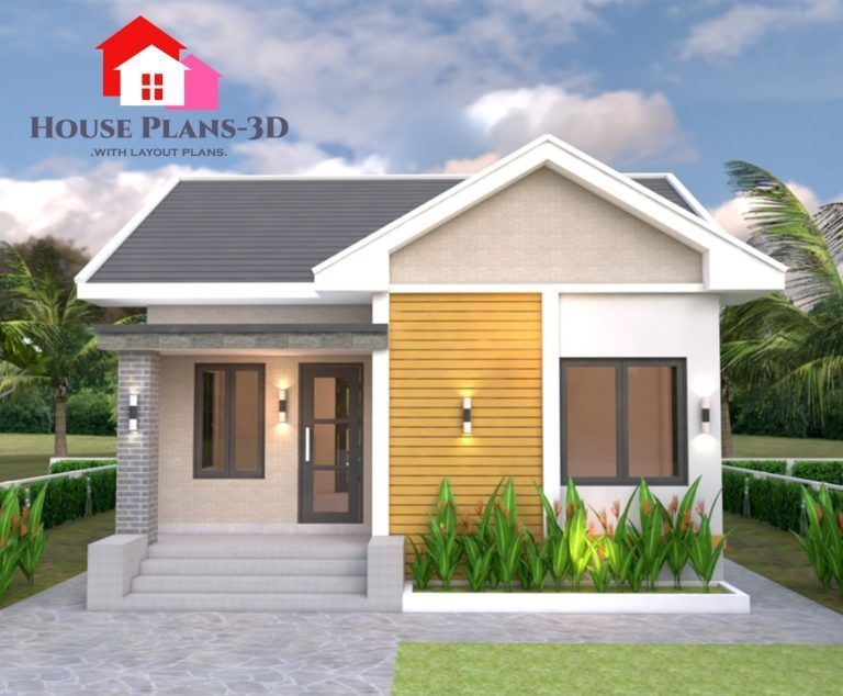 Petite And Cozy Two Bedroom Bungalow Pinoy Eplans One Bedroom House Modern Small House Design Small Bungalow