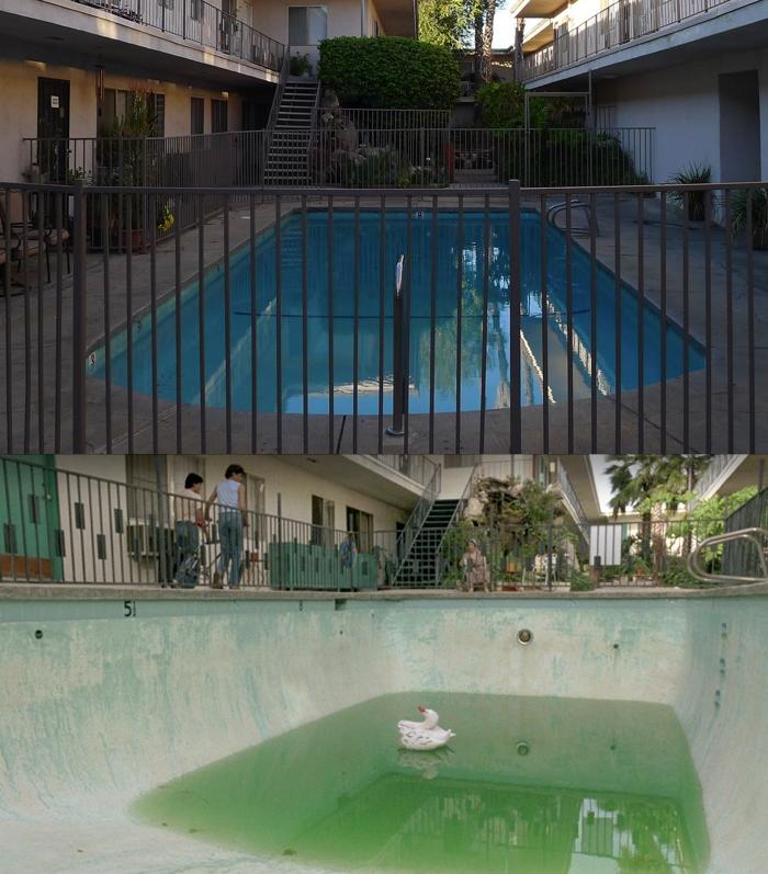 The Karate Kid 1984 South Sea S Apt Pool 19223 Saticoy St Reseda California If It Looks Like A Duck