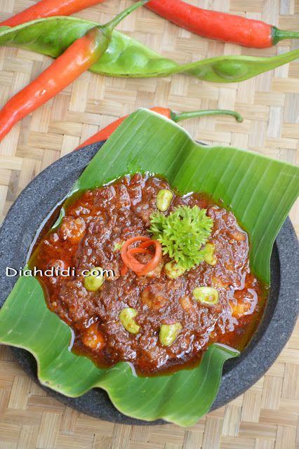Sadayana Resep Siwang Terasi Bawang Yg Luezatt Terasi Resep