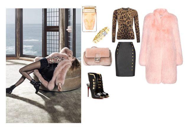 """La Panthère...:)"" by lalynany ❤ liked on Polyvore featuring Altuzarra, Dolce&Gabbana, Rebecca Minkoff, Fendi, Christian Louboutin, Tiffany & Co., women's clothing, women's fashion, women and female"