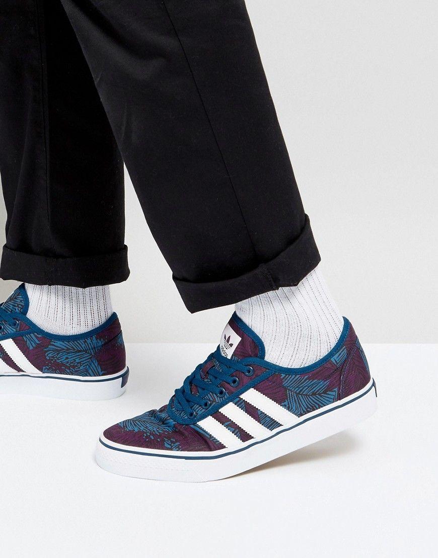 Adidas Skateboarding Adi Ease zapatilla by4035 Azul monopatin