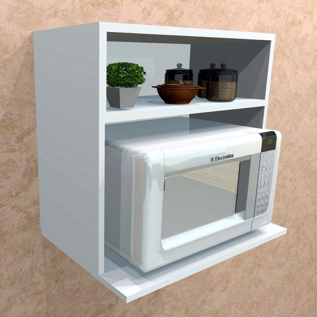 Suporte Para Microondas Pesquisa Google Muebles A Reos  # Muebles Microondas