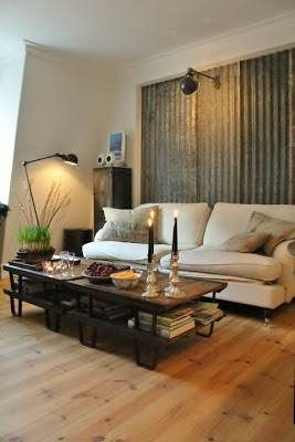 12 Great Sheet Metal Home Decor Ideas | Metal accents, Sheet metal ...
