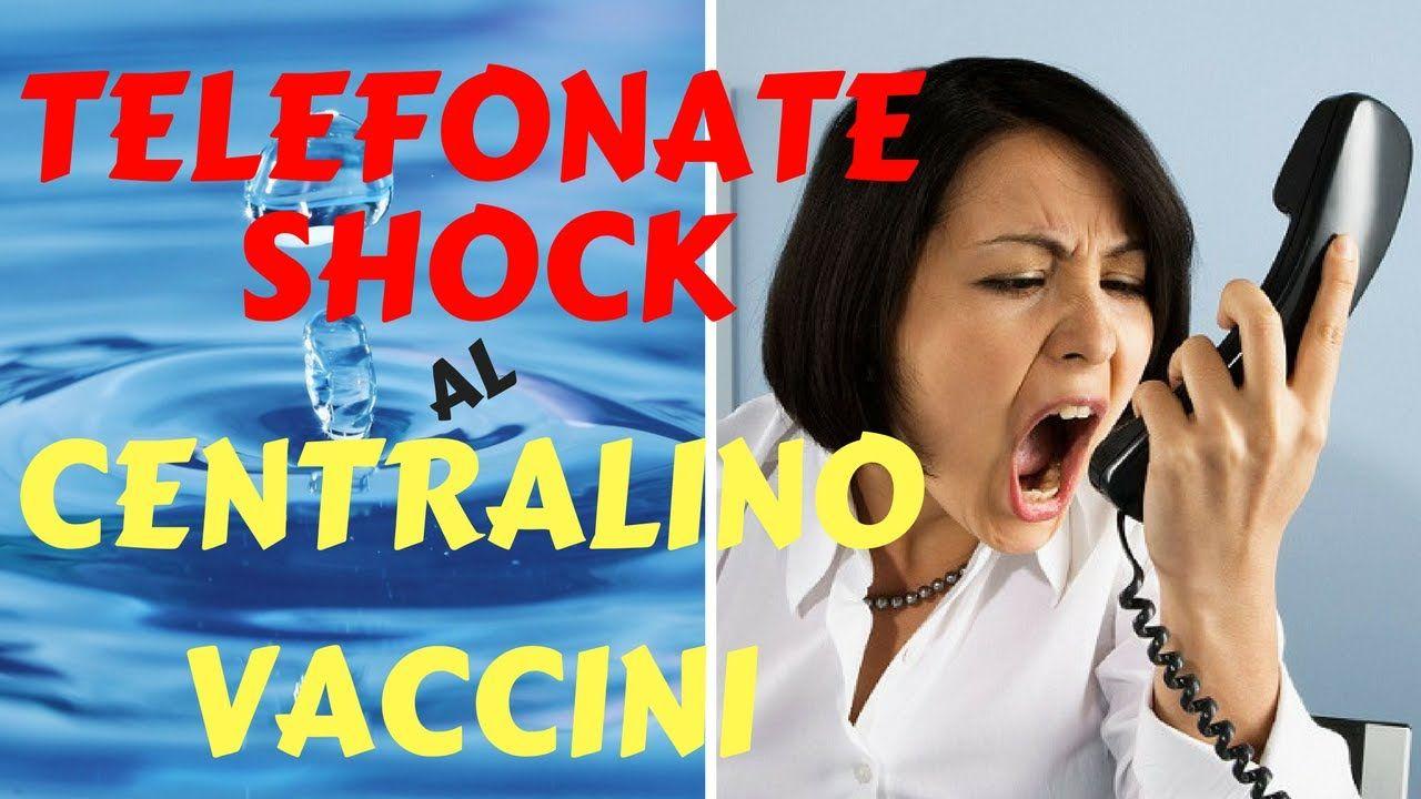 TELEFONATE SHOCK al centralino per VACCINI - AUDIO INEDITO ASSOLUTO