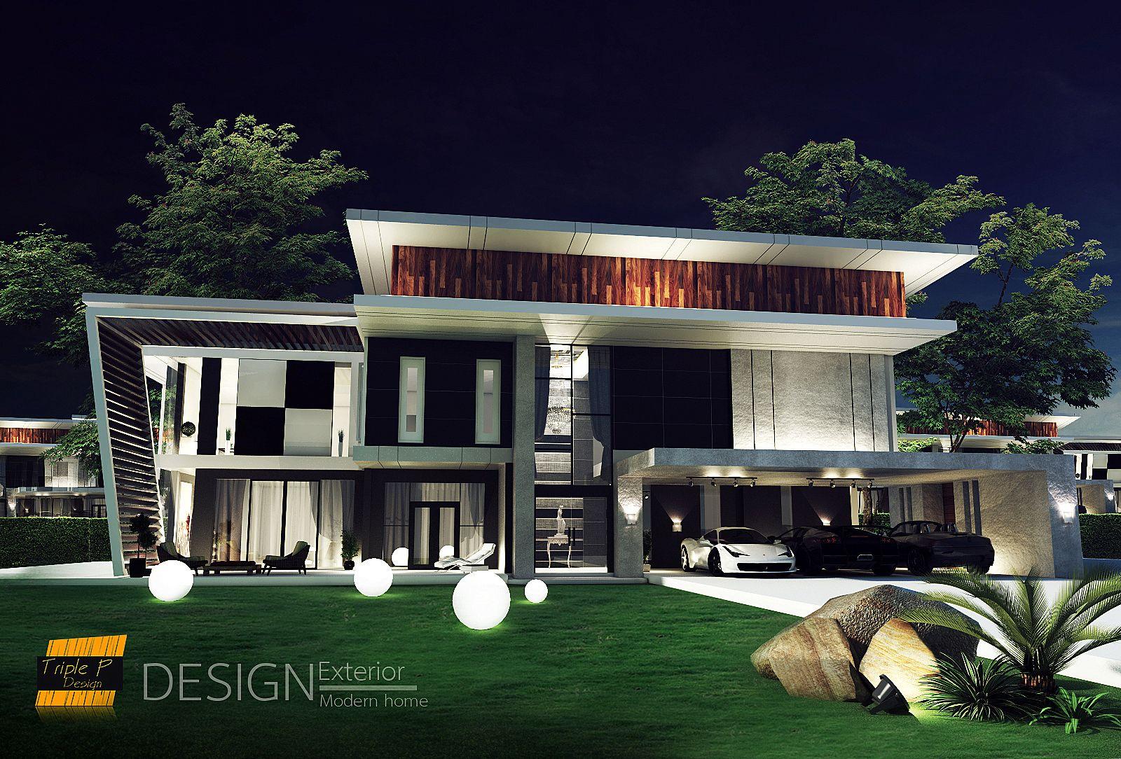 Modern Home Design By Triple P Design