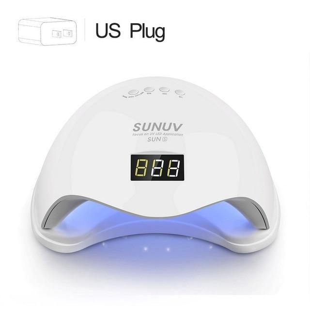 Sunuv Sun5 48w Dual Uv Led Nail Lamp Nail Dryer Gel Polish