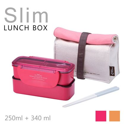 Slim lunch box
