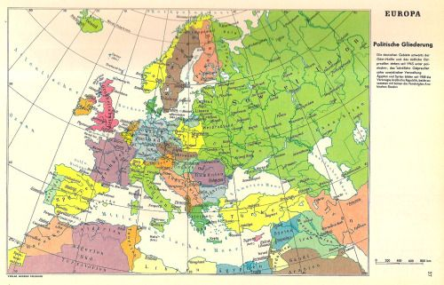 German Map Of Europe Showing Territories Lost By Germany After - German map