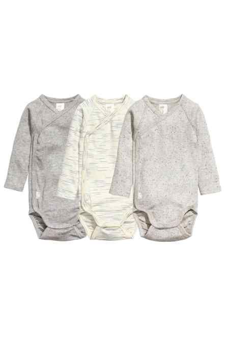 fff4c968c3 3 db-os átlapolós body szett | For My little baby <3 | Ruffle blouse ...