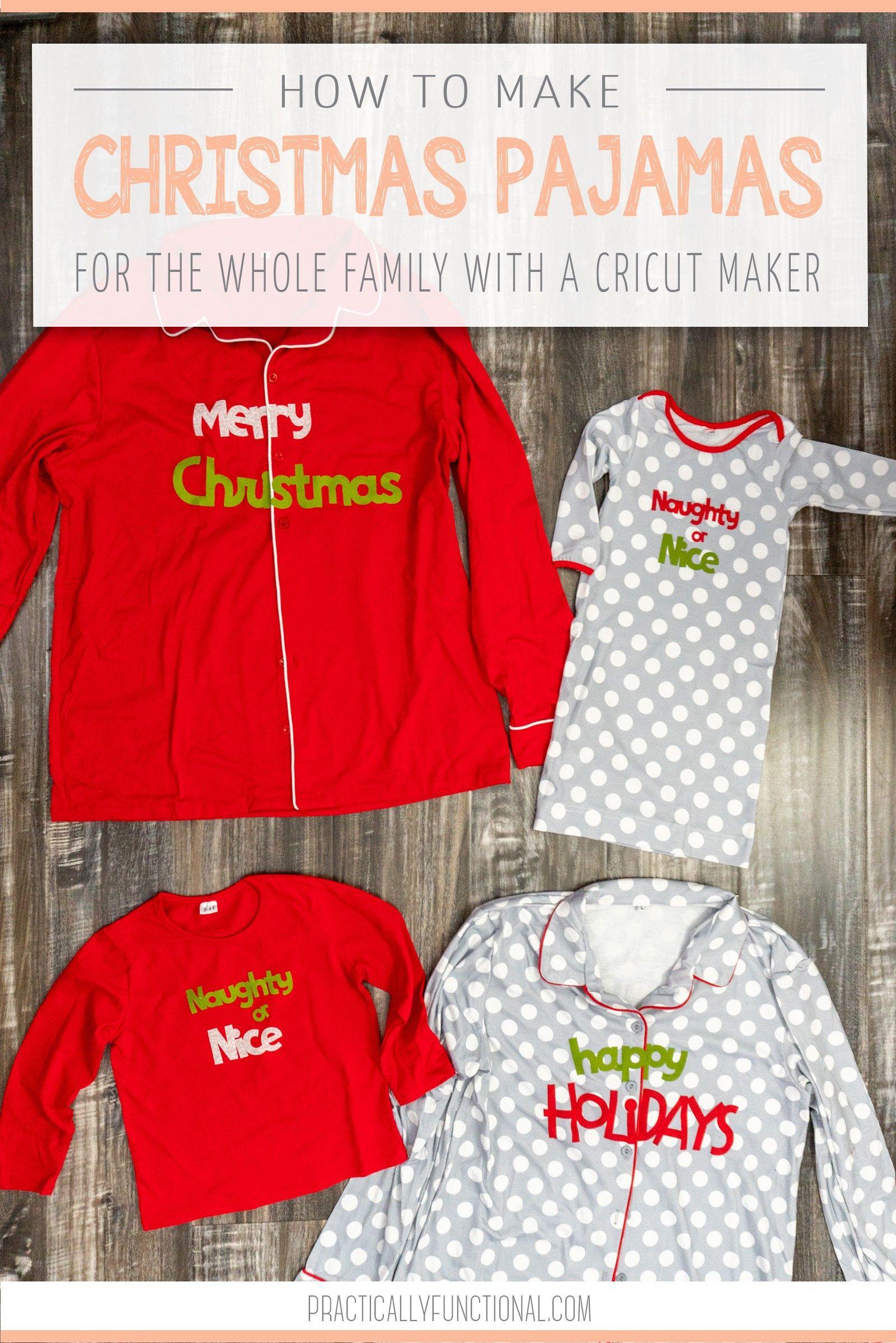 Diy Christmas Pajamas : christmas, pajamas, Matching, Family, Christmas, Pajamas, Practically, Functional, Pajamas,